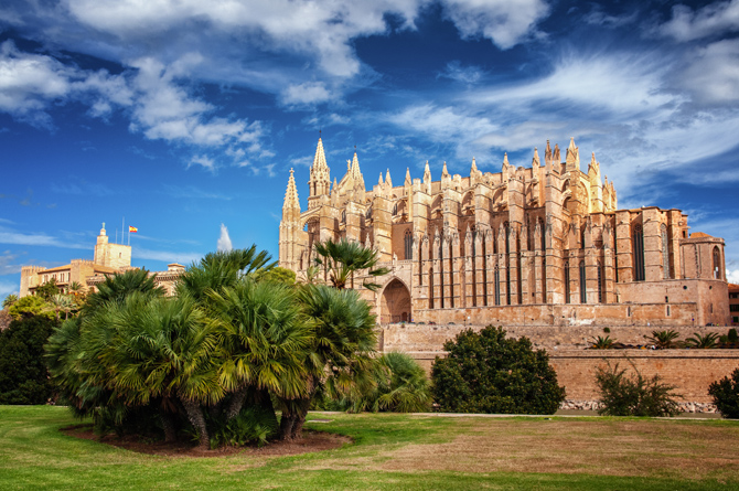 Die Kathedrale in Palma