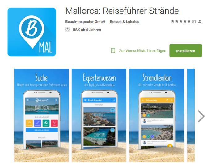 Beach-Inspektor Strand-App