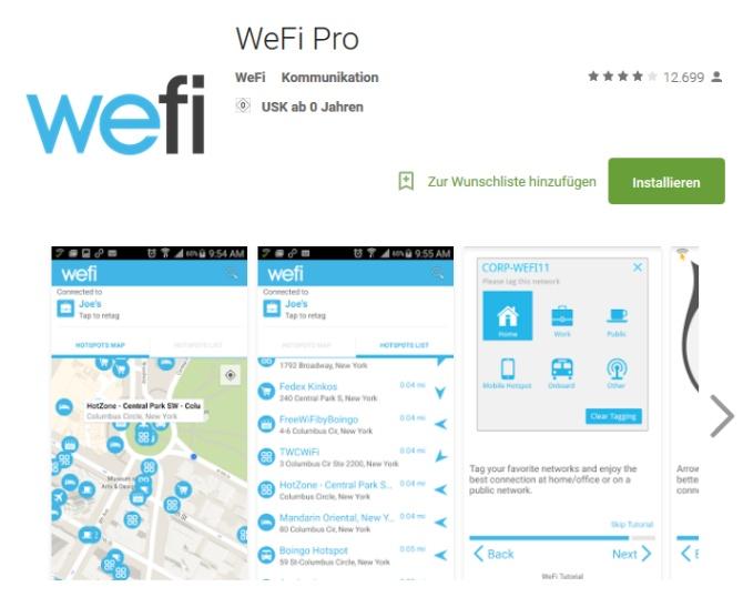 WeFi Pro App