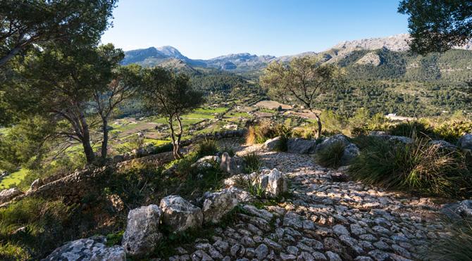 Wanderweg Puig de Maria