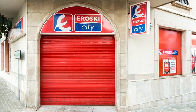 Eroski Supermarkt auf Mallorca