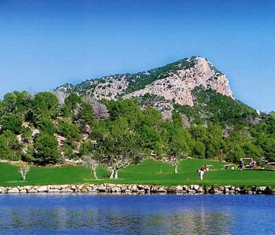 Andratx Golfplatz Mallorca