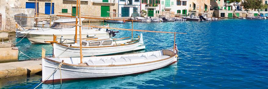 Boote in Porto Colom