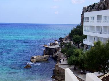 Meerblick bei Cala Sant Vicente Mallorca
