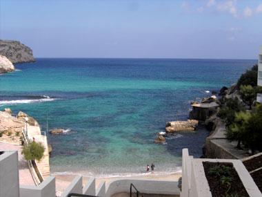 Meer bei Cala Sant Vicente