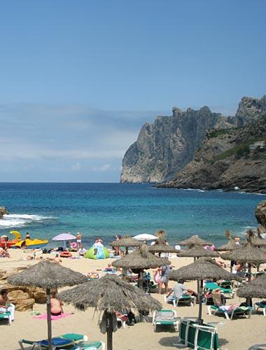 Strand bei Cala Sant Vicente