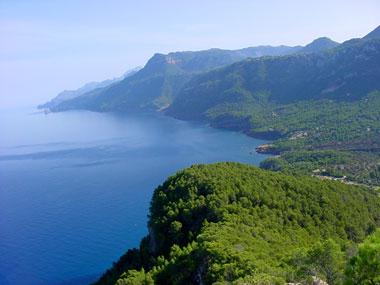 Westküste von Mallorca
