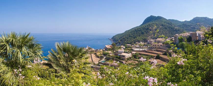 Landschaft im Westen von Mallorca