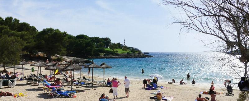 Strand bei Porto Colom