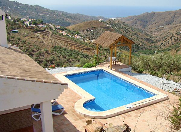 ferienhaus caramello bei competa in andalusien mit pool. Black Bedroom Furniture Sets. Home Design Ideas