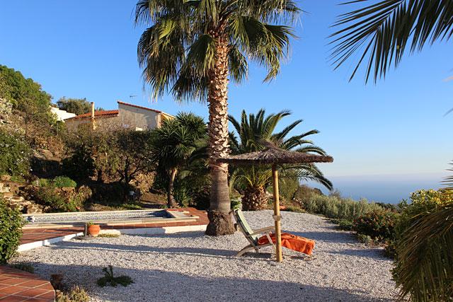 Ferienhaus Algarrobo Andalusien Meerblick
