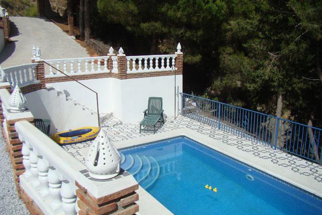 Ferienhaus Andalusien Competa Pool