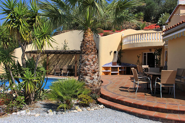Finca Andalusien Garten