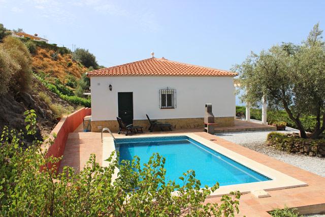 Ferienhaus Andalusien Poolterrasse