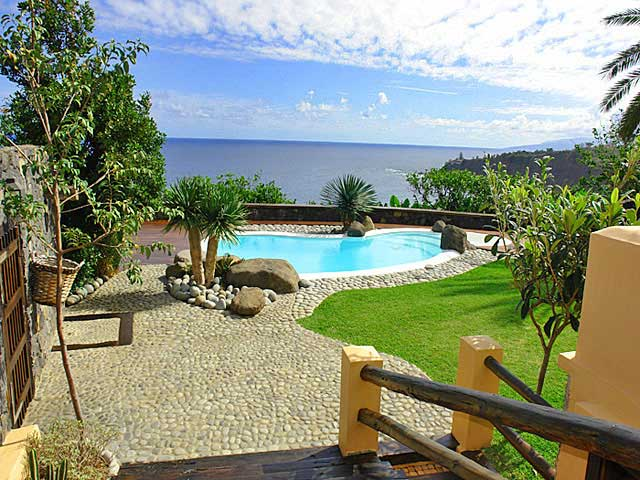 Ferienhaus mit Meerblick Puerto de la Cruz